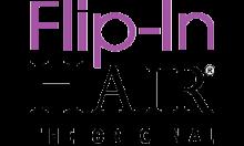 Flip-In Hair Logo
